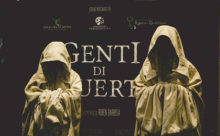Presentación de GENTI  DI MUERTI en la Academia de Cine
