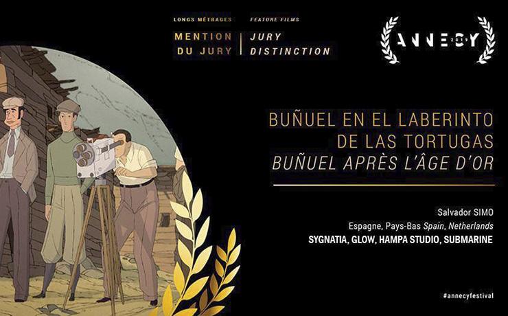 «BUÑUEL», Premio del Jurado y a la Banda sonora en el Festival de Annecy